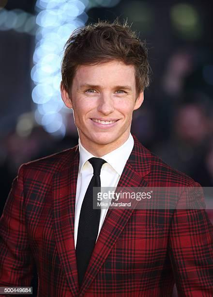 Eddie Redmayne attends the UK Film Premiere of 'The Danish Girl' on December 8 2015 in London United Kingdom
