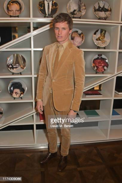 """Eddie Redmayne attends the UK Premiere after party for """"The Aeronauts"""" during the 63rd BFI London Film Festival at W London Leicester Square on..."""