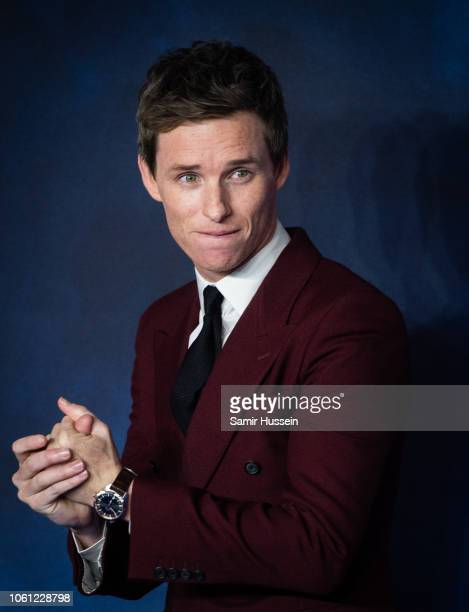 Eddie Redmayne attends the UK Premiere of 'Fantastic Beasts The Crimes Of Grindelwald' at Cineworld Leicester Square on November 13 2018 in London...