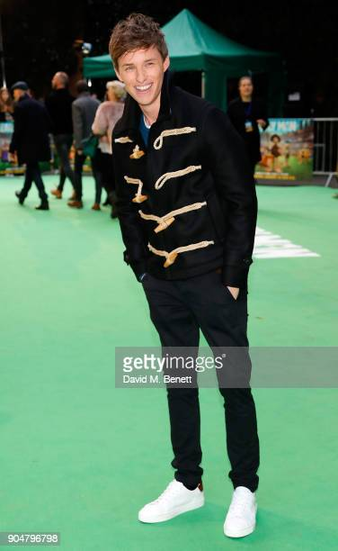 Eddie Redmayne attends the World Premiere of 'Early Man' at BFI IMAX on January 14 2018 in London England