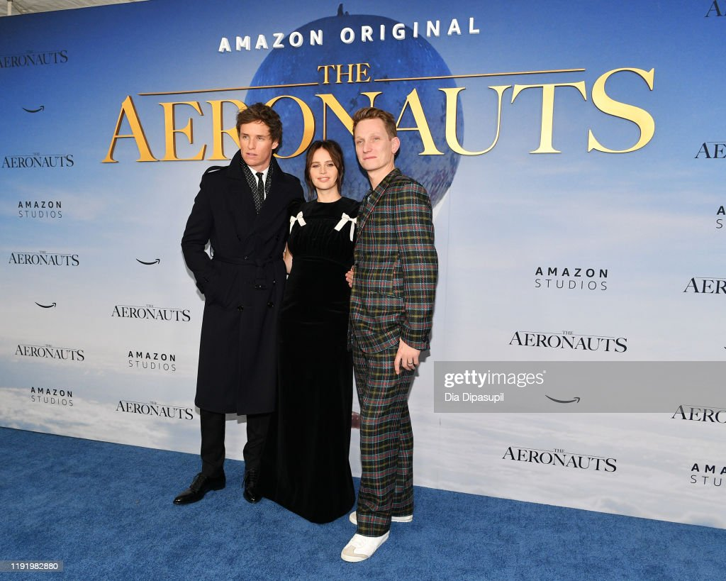 """The Aeronauts"" New York Premiere : News Photo"