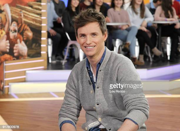 AMERICA Eddie Redmayne is a guest on 'Good Morning America' Tuesday February 13 airing on the ABC Television Network EDDIE