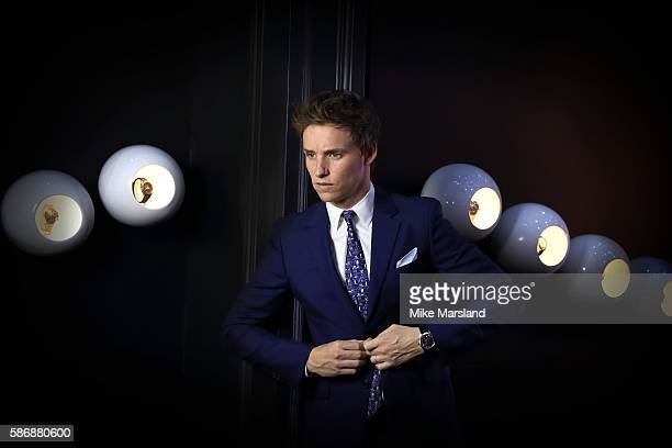 Eddie Redmayne photographed in the 'Space Room' ahead of the launch of OMEGA House Rio 2016 on August 6 2016 in Rio de Janeiro Brazil