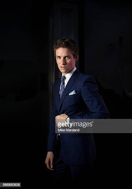 Eddie Redmayne photographed in the 'Space Room ahead of the launch of OMEGA House Rio 2016 on August 6 2016 in Rio de Janeiro Brazil