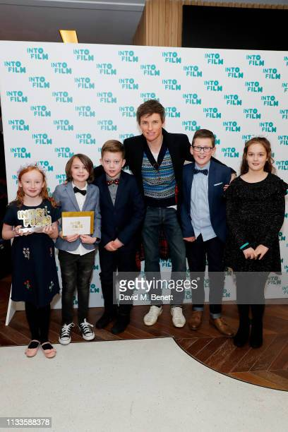Eddie Redmayne presents Best Film 11 Years and Under sponsored by Sony Pictures Entertainment with 'AntiBullying' Hornsea Community Primary School...