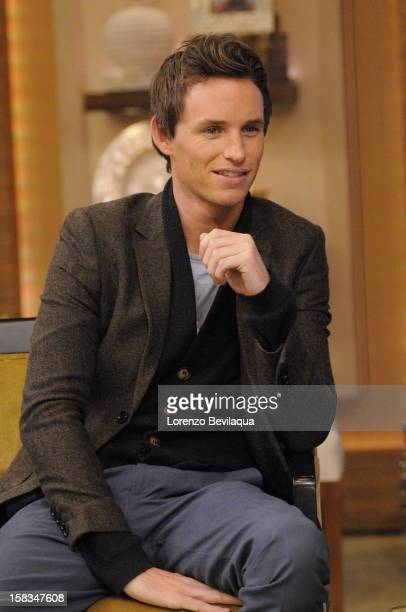 MICHAEL 12/13/12 Eddie Redmayne talks about the new film 'Les Miserables' on the newlyrechristened syndicated talk show LIVE with Kelly and Michael'...