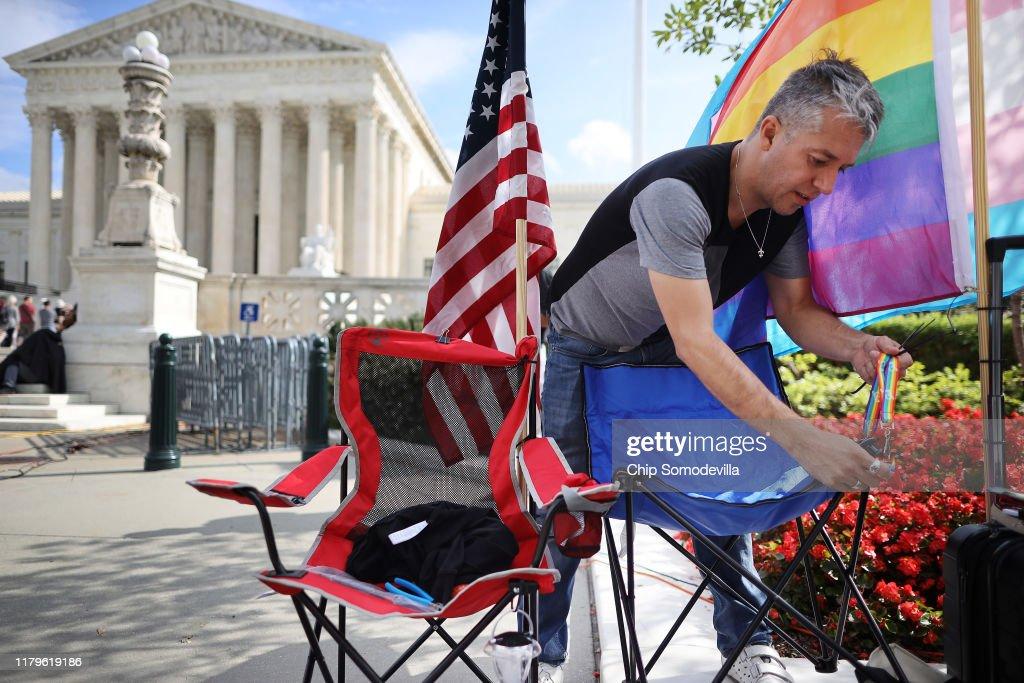 U.S. Supreme Court Starts A New Term : News Photo