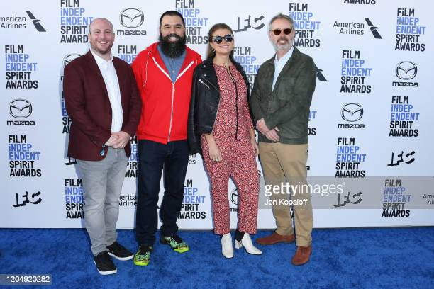 Eddie Rubin Andrew Miano Daniele Tate Melia and Peter Saraf attend the 2020 Film Independent Spirit Awards on February 08 2020 in Santa Monica...