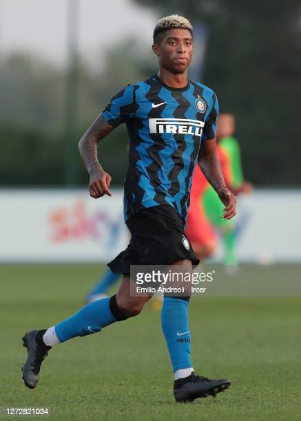 Eddie Salcedo of FC Internazionale looks on during the PreSeason Friendly match between FC Internazionale and Lugano at the club's training ground...