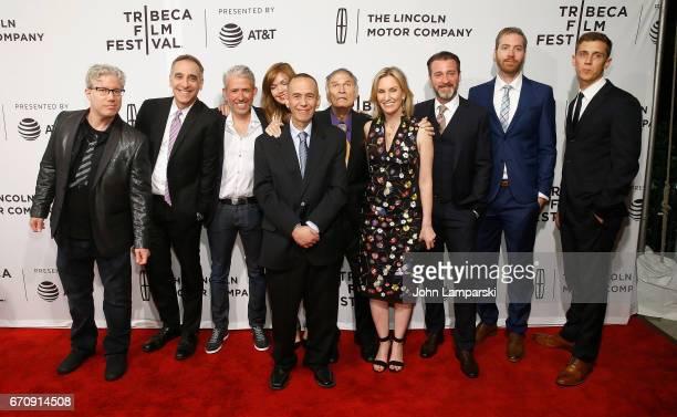 """Eddie Schmidt, Bart McDonough, Gilbert Gottfried, Larry Storch, Dara Kravitz, Neil Berkley, James Andre Leche and Jake Hostetter attend """"Gilbert""""..."""