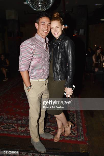 Eddie Shieh and Christiane Seidel attend the Nicole Miller Spring 2019 After Party at Acme on September 6 2018 in New York City