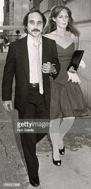 Eddie Simon and guest during Paul Simon and Carrie Fisher Wedding August 16 1983 at Paul Simon's Central Park West Apartment in New York City New...