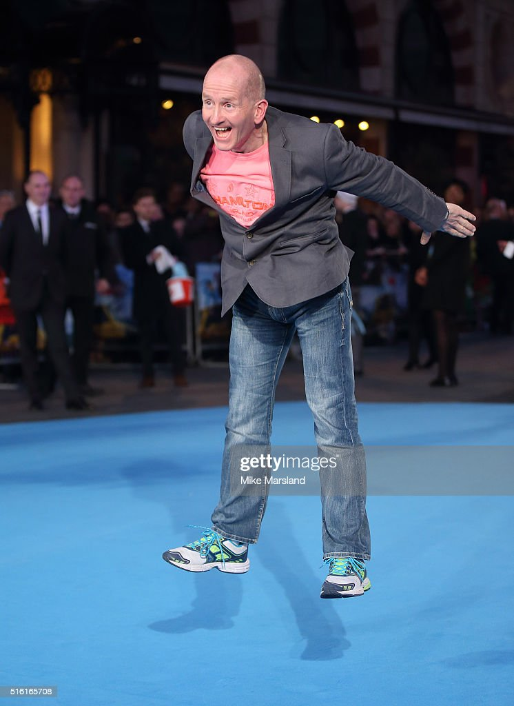The European Premiere of 'Eddie The Eagle' - Arrivals : News Photo