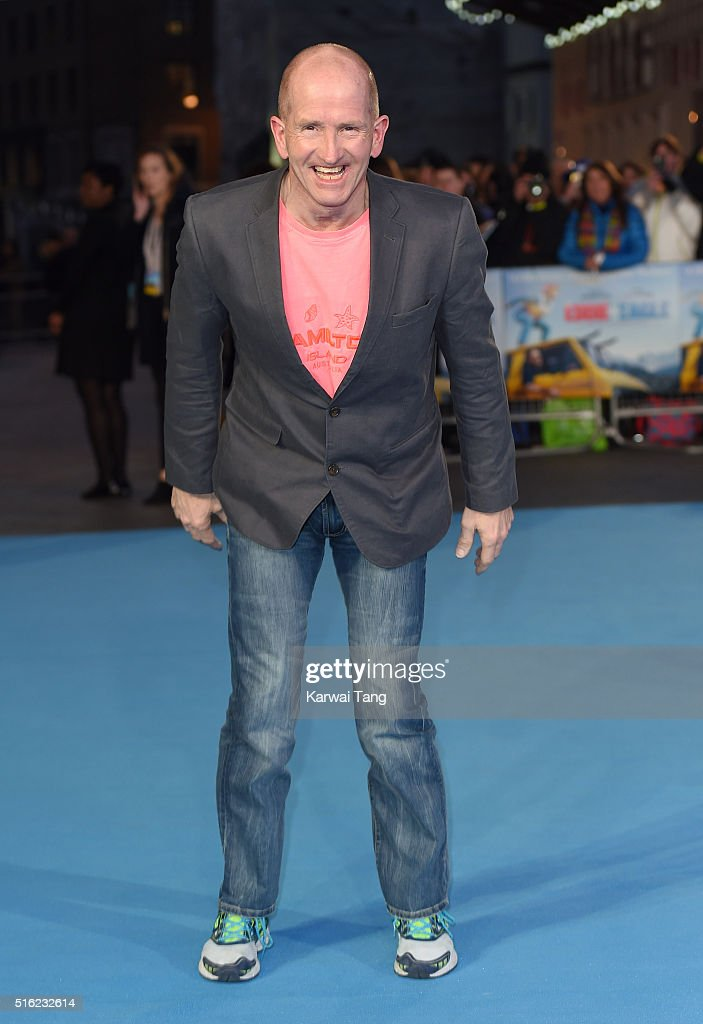 The European Premiere of 'Eddie The Eagle' - Arrivals : News Photo