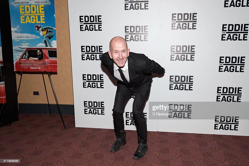 """Eddie The Eagle"" New York Screening : News Photo"