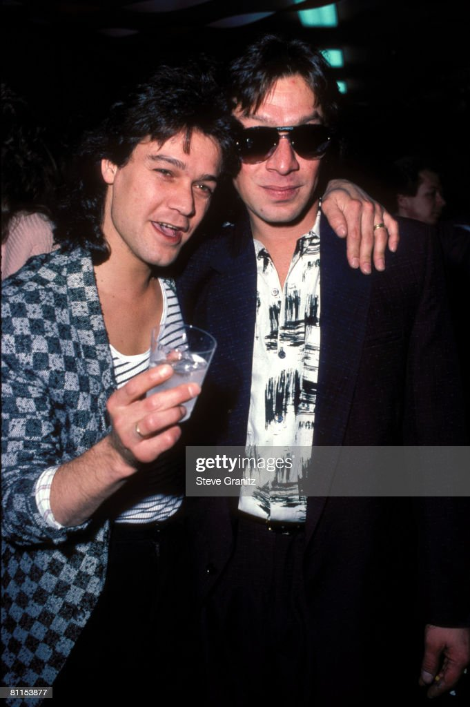 Eddie Van Halen Alex Van Halen News Photo Getty Images