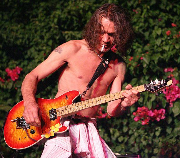 Eddie Van Halen Performs at the House of Petals Summer Jam ...