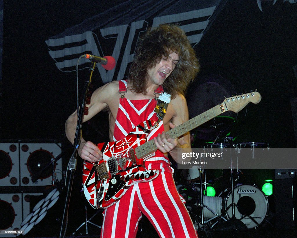 Eddie Van Halen Of Van Halen Performs On The Diver Down Tour At News Photo Getty Images