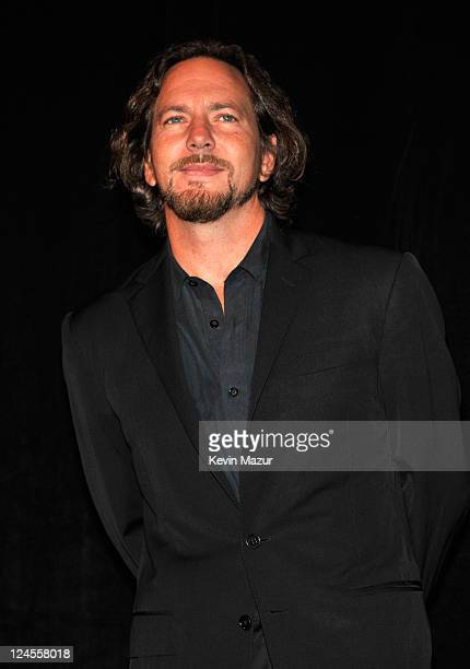 Eddie Vedder of Peal Jam attends the Pearl Jam Twenty premiere at the Princess of Wales Theatre during the 2011 Toronto International Film Festival...
