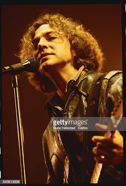 Eddie Vedder of Pearl Jam Performing