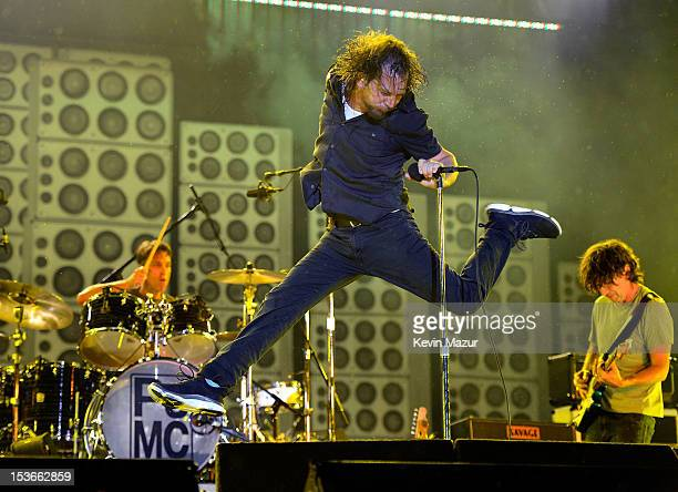 Eddie Vedder of Pearl Jam performs during Budweiser Made In America Festival Benefiting The United Way - Day 2 at Benjamin Franklin Parkway on...