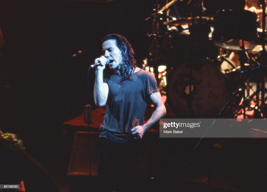 Eddie Vedder of Pearl Jam plays live at the ULU , London, 2nd March