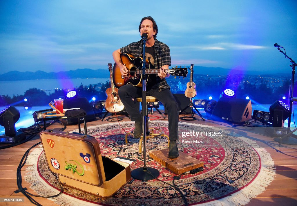 Citi and Live Nation Present A Special Evening With Eddie Vedder at Cannes Lions