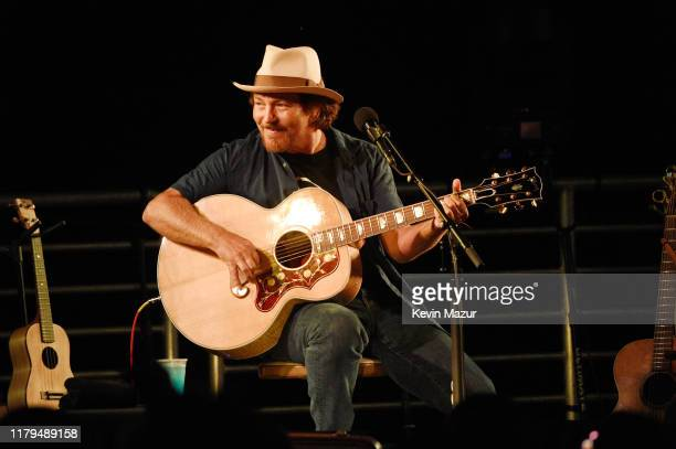 Eddie Vedder performs onstage during ROCK4EB at Private Residence on October 06 2019 in Malibu California