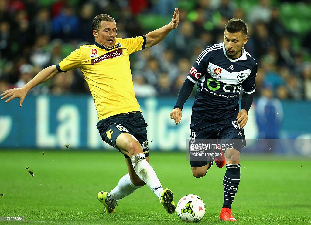 A-League Rd 27 - Melbourne v Central Coast