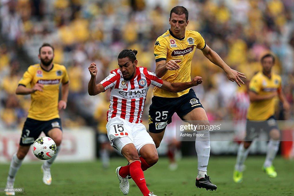 A-League Rd 15 - Central Coast v Melbourne