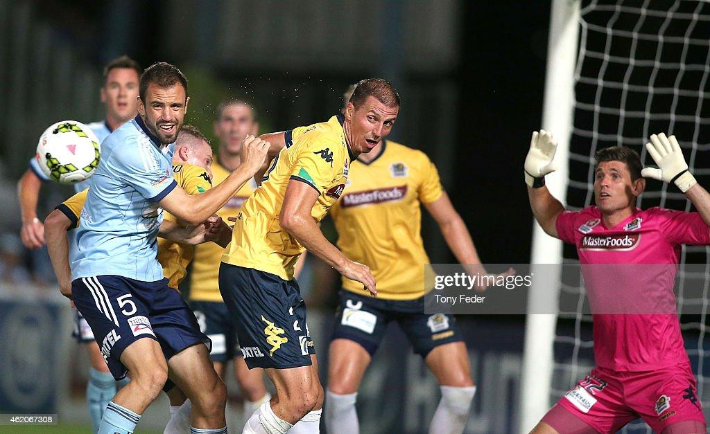 A-League Rd 16 - Central Coast v Sydney