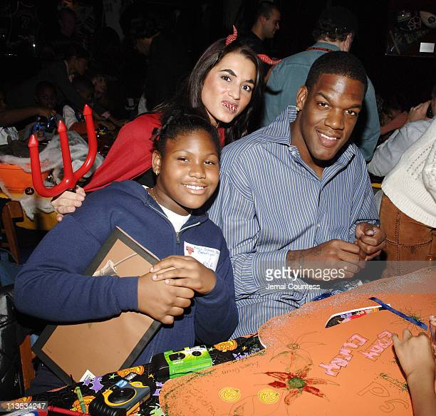 Eddy Curry during New York Knicks TipOff ReadtoAchieve Campaign with Halloween Bash for Kids at Planet Hollywood at Planet Hollywood in New York City...