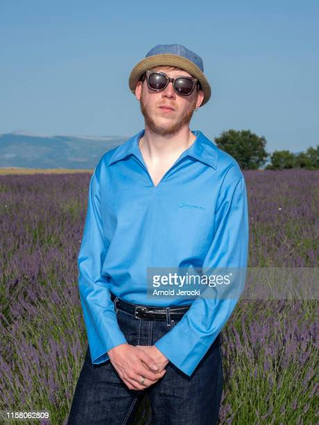 Eddy de Pretto attends the Jacquemus Spring Summer 2020 show on June 24, 2019 in Valensole, France.