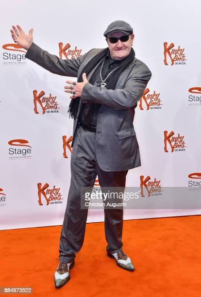 Eddy Kante attends 'Kinky Boots' Premiere at Stage Operettenhaus on December 3 2017 in Hamburg Germany