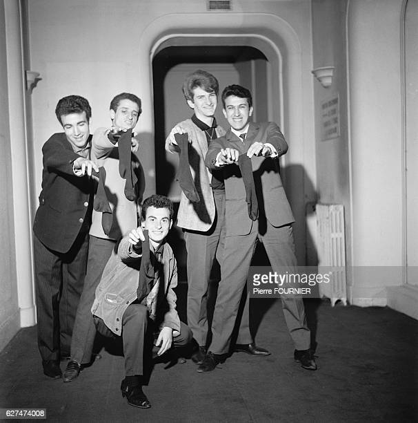 Eddy Mitchell with His Group Les Chaussettes Noires