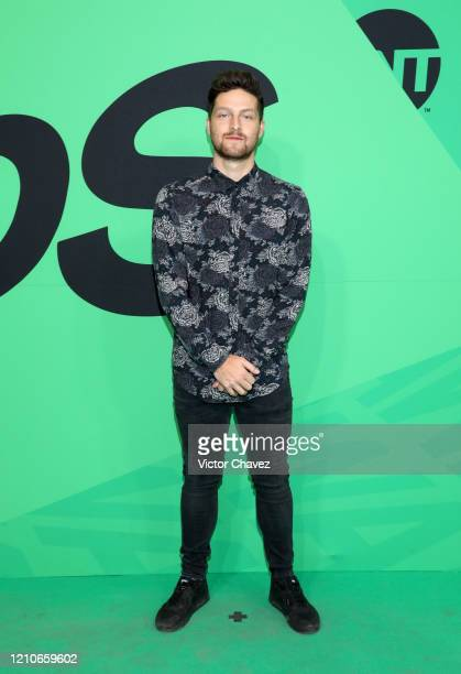 Eddy Vilard attends the 2020 Spotify Awards at the Auditorio Nacional on March 05 2020 in Mexico City Mexico