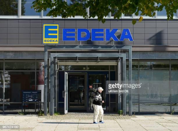 Edeka Brueckenstrasse Chemnitz Sachsen Deutschland