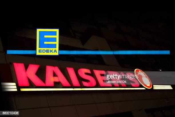 Edeka Kaisers Logos zusammen