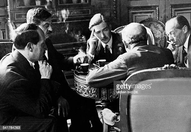 Anglo german naval agreement stock photos and pictures getty images eden anthony politician great britain12061897foreign secretary anthony eden in paris for talks about the platinumwayz