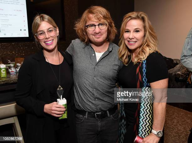 Eden Cohen musician Drew Brown and Kathryn Burns attend the Operation Smile Screening Of ENOK Hosted By DJ Connor Bvrns on October 23 2018 in Los...