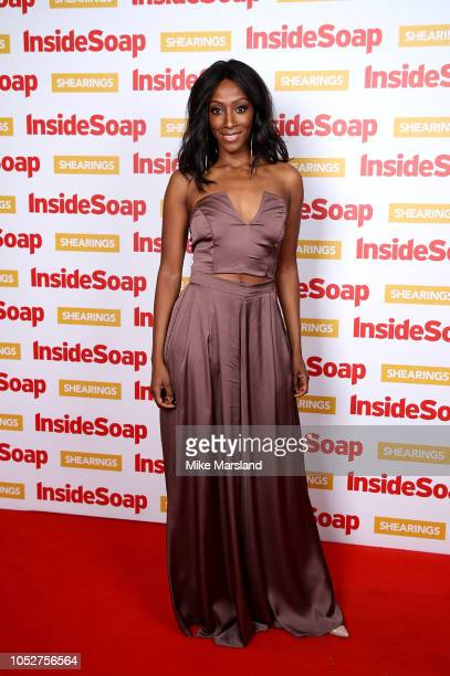 Eden DraperTaylor attends the Inside Soap Awards held at 100 Wardour Street on October 22 2018 in London England