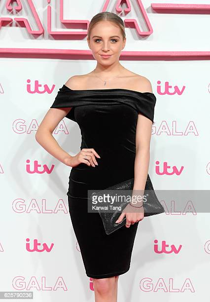 Eden DraperTaylor attends the ITV Gala at London Palladium on November 24 2016 in London England