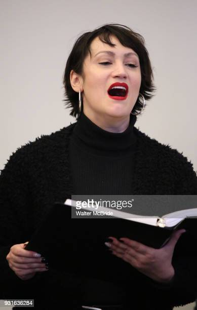 Eden Espinosa during the Broadway Center Stage Rehearsal for 'In the Heights' on March 13 2018 at Baryshnikov Arts Center in New York City
