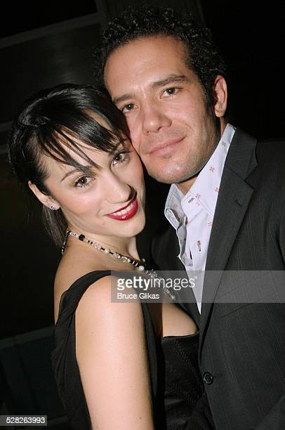 Eden Espinoza and Aaron Lohr during Brooklyn The Musical Opening at Plymouth Theatre in New York City New York United States
