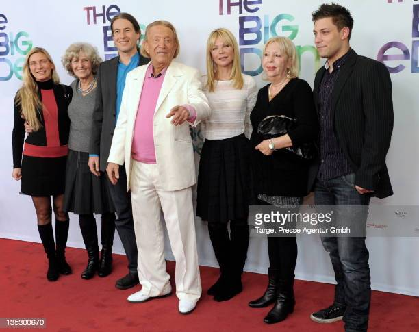 Eden Exwife Martina Exwife Simone Steuer with her son Marco Rolf Eden Edens present girlfriend Brigitte his first daughter Irit and her son Max...