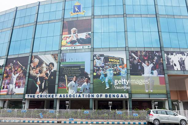 eden gardens cricket stadium, kolkata, india - west bengal stock pictures, royalty-free photos & images