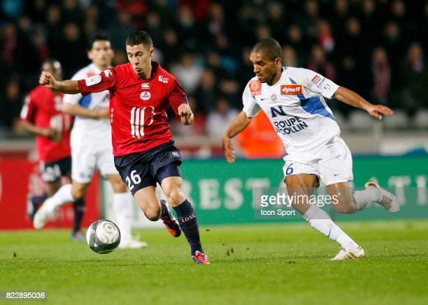 Eden HAZARD Lille / Montpellier 30e journee Ligue 1 Stadium Nord Villeneuve d'Ascq
