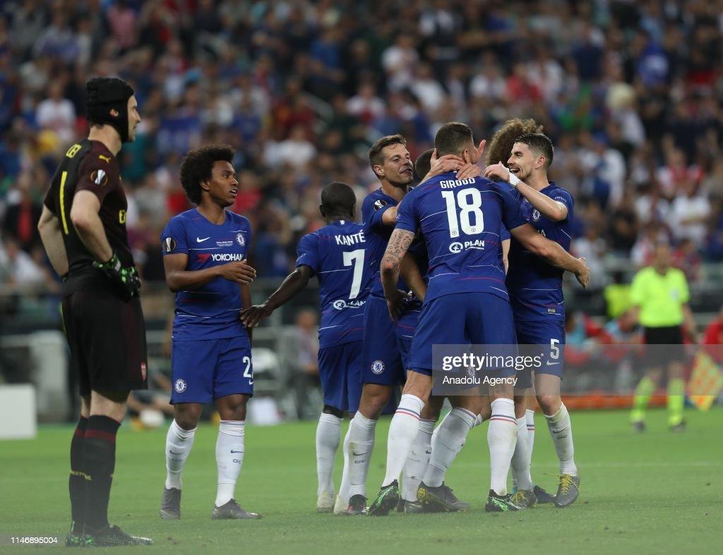 UEFA Europa League Final: Chelsea vs Arsenal : News Photo
