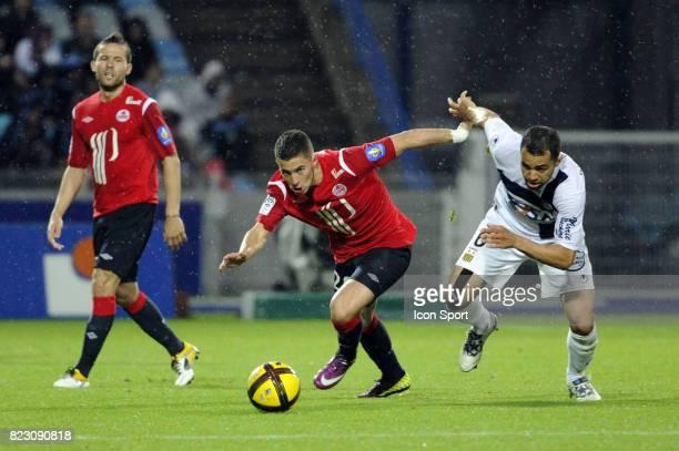 Eden HAZARD / Jamel AIT BEN IDIR - - Lille / Arles Avignon - 33e journee de Ligue 1,
