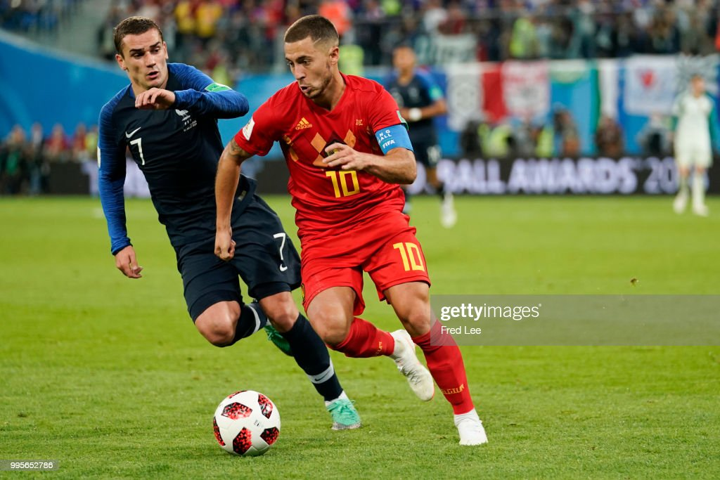 Belgium v France: Semi Final - 2018 FIFA World Cup Russia : News Photo